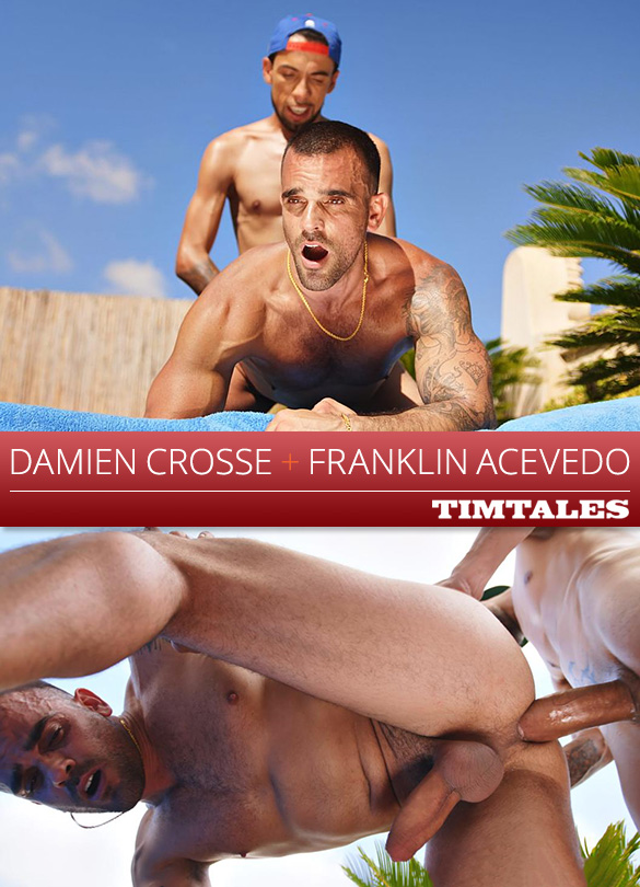 TimTales: Damien Crosse takes Franklin Acevedo's 9-inch cock deep and raw