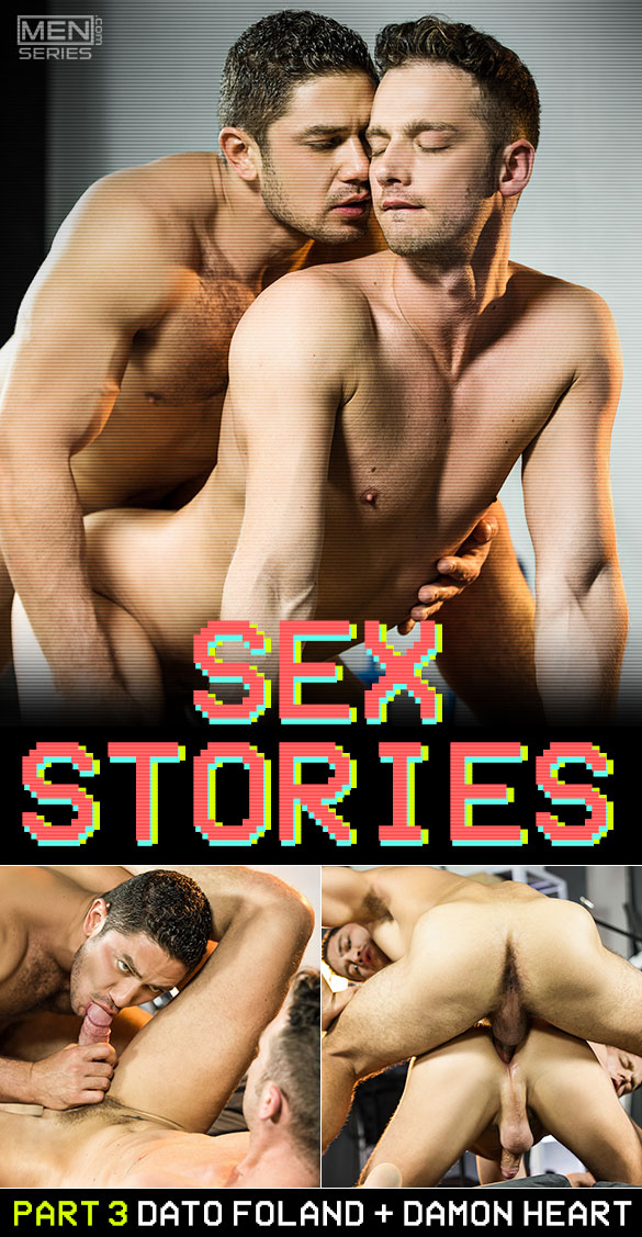 "Men.com: Dato Foland pounds Damon Heart in ""Sex Stories, Part 3"""