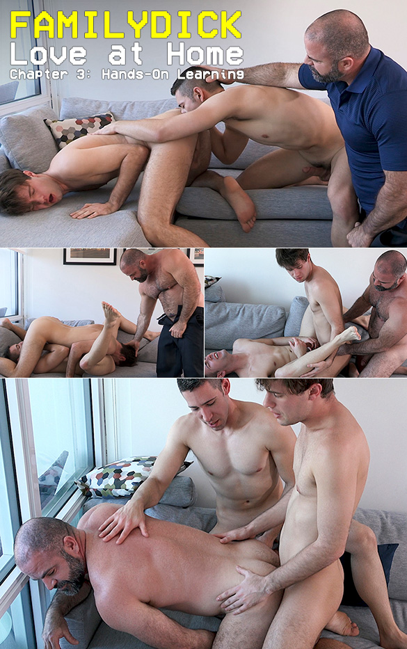 "FamilyDick: ""Love at Home – Chapter 3: Hands-On Learning"""