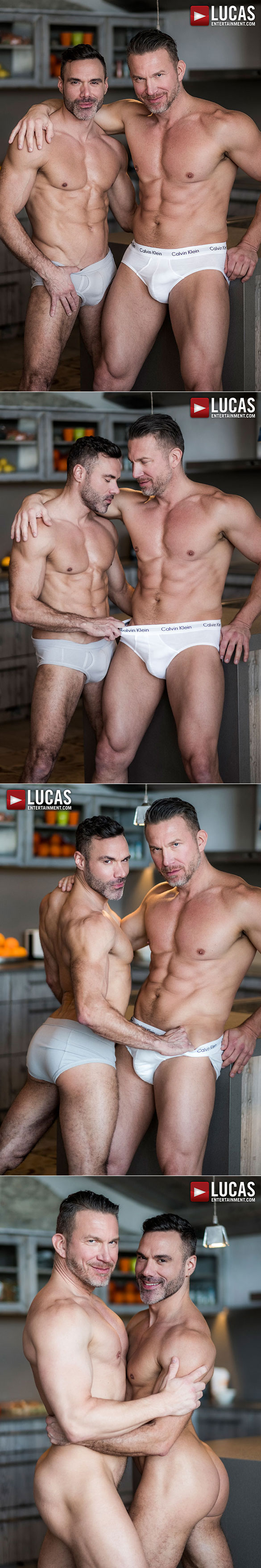 "Lucas Entertainment: Tomas Brand and Manuel Skye blow each other in ""Daddy's Good Boy"""
