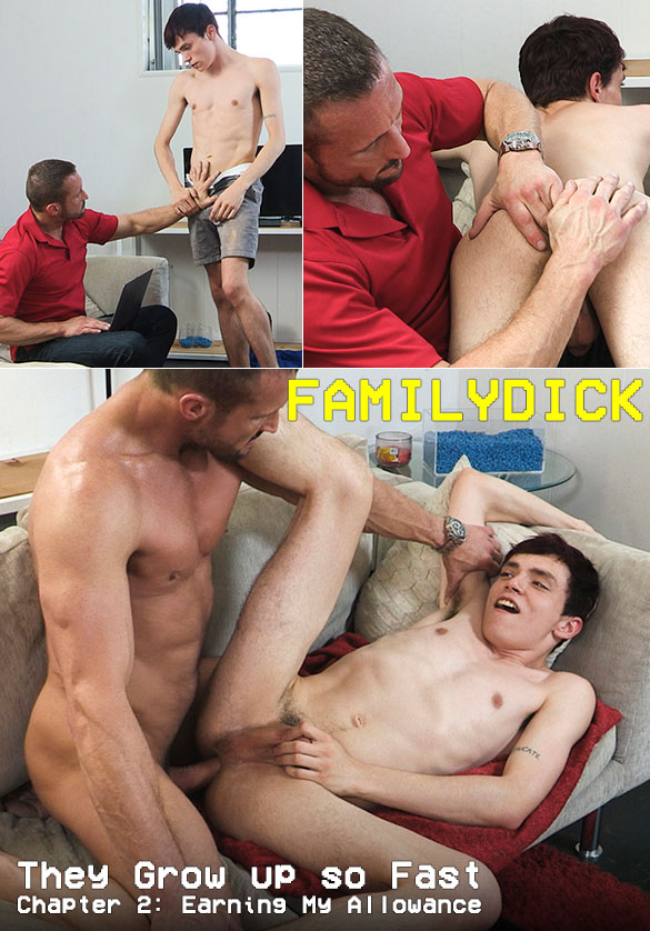 "FamilyDick: ""They Grow up so Fast – Chapter 2: Earning My Allowance"""