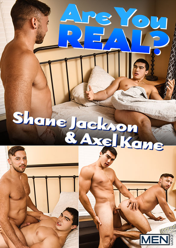 "Men.com: Axel Kane bangs Shane Jackson in ""Are You Real?"""