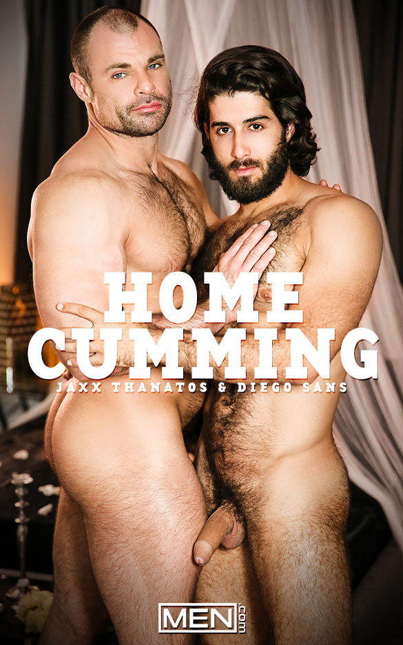 "Men.com: Diego Sans fucks Jaxx Thanatos in ""HomeCumming"""