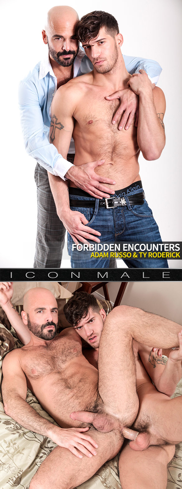 "IconMale: Ty Roderick fucks Adam Russo in ""Fordbidden Encounters"""