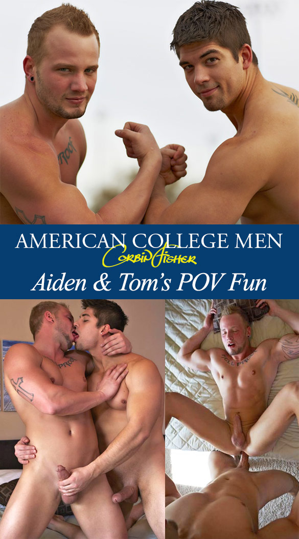 Corbin Fisher: Aiden creampies Tom