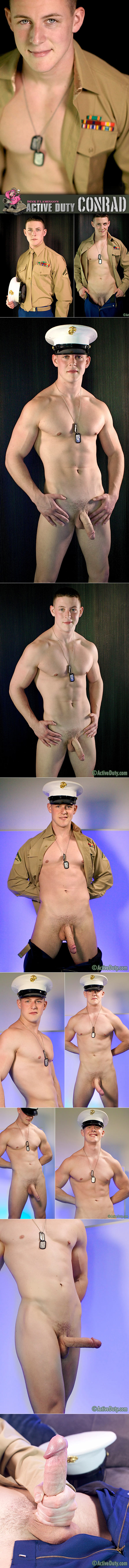Active Duty: Marine Conrad rubs one out