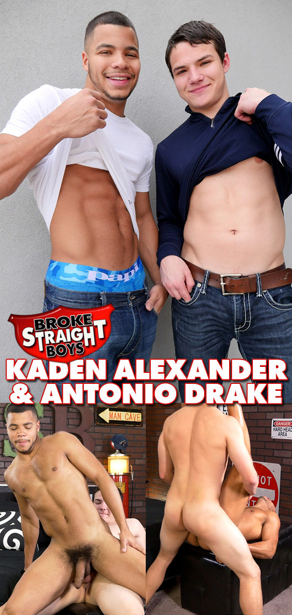 Broke Straight Boys: Antonio Drake fucks Kaden Alexander